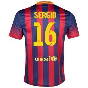 Camiseta nueva del Barcelona 2013/2014 Sergio Primera