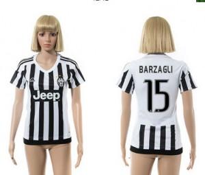 Camiseta nueva del Juventus 2015/2016 15 Mujer