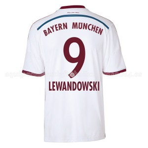 Camiseta nueva del Bayern Munich Equipacion Lewandowski Segunda