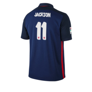 Camiseta de Atletico Madrid 2015/2016 Segunda JACKSON Equipacion