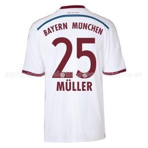 Camiseta nueva Bayern Munich Muller Equipacion Segunda 2014/2015