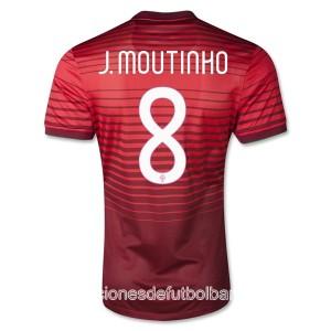 Camiseta de Portugal de la Seleccion 2013/2014 Primera J Moutinho