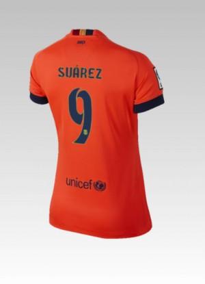 Camiseta Barcelona Bartra Tercera 2014/2015