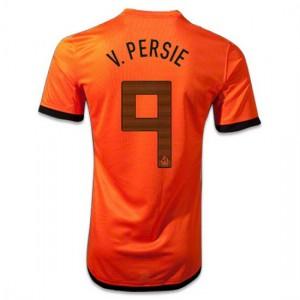 Camiseta del V.Persie Holanda de la Seleccion Primera 2012/2014