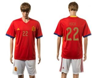 Camiseta del 22# España 2015-2016