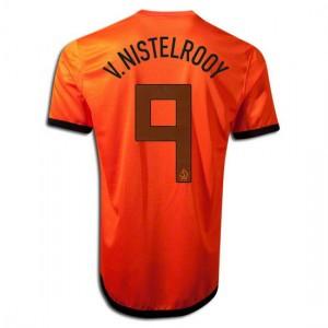 Camiseta nueva del Holanda de la Seleccion 2012/2014 V.Nistelrooy Primera
