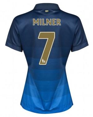 Camiseta de Manchester City 2013/20 Segunda Equipacion Mujer