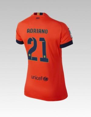 Camiseta nueva Barcelona Bartra Equipacion Tercera 2013/2014