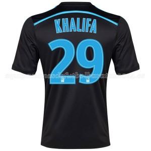 Camiseta Marseille Khalifa Tercera 2014/2015