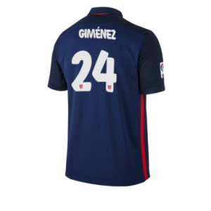Camiseta de Atletico Madrid 2015/2016 Segunda GIMENEZ Equipacion