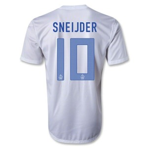 Camiseta del Sneijder Holanda Segunda 2013/2014