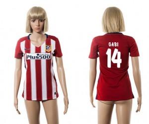 Mujer Camiseta del 14 Atletico Madrid 2015/2016