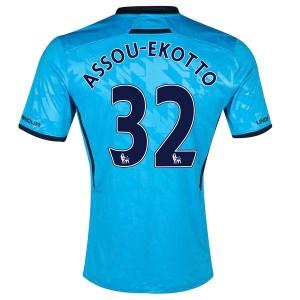Camiseta Tottenham Hotspur Assou Ekotto Segunda 2013/2014
