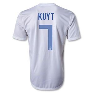 Camiseta nueva Holanda Kuyt Segunda 2013/2014