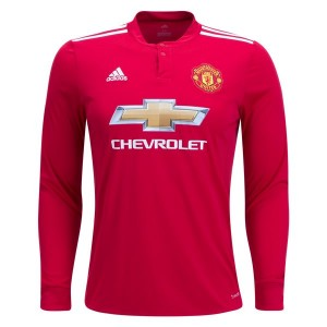 Camiseta de Manchester United 2017/2018 Home Long Sleeve