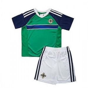 Niños Camiseta del VERDE IRLANDA DEL NORTE Primera 2016