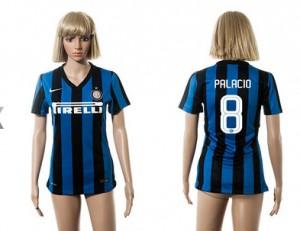 Camiseta nueva Inter Milan Mujer 8 2015/2016