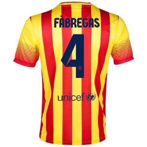 Camiseta nueva Barcelona Fabregas Segunda 2013/2014