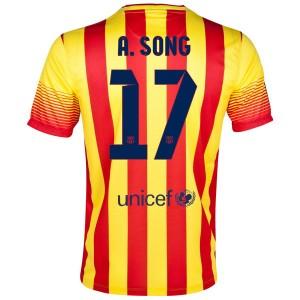 Camiseta del A.Song Barcelona Segunda 2013/2014