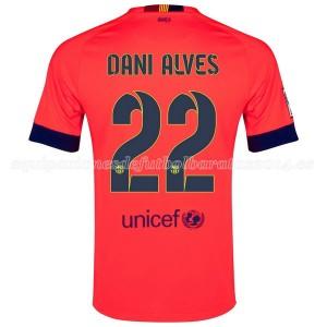 Camiseta del Dani Alves Barcelona Segunda 2014/2015