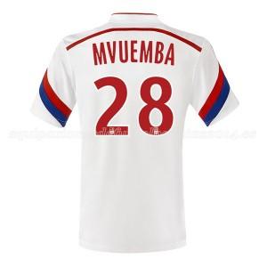 Camiseta nueva del Lyon 2014/2015 Mvuemba Primera