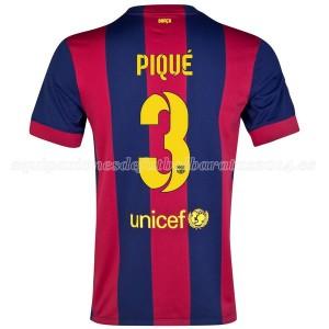 Camiseta Barcelona Pique Primera 2014/2015