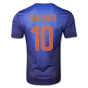 Camiseta nueva del Holanda de la Seleccion WC2014 Sneijder Segunda