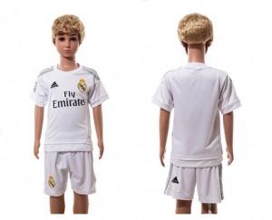 Camiseta de Real Madrid 2015-2016 Home Niños